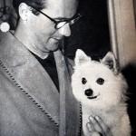 Domenico Rea con il suo cane