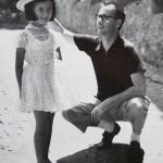 con la figlia Lucia
